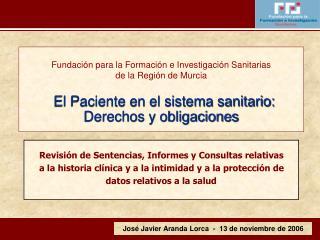 José Javier Aranda Lorca  -  13 de noviembre de 2006