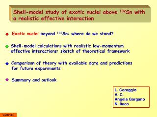 Shell-model study of exotic nuclei above  132 Sn with a realistic effective interaction