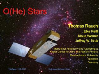 O(He) Stars