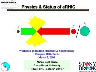Physics & Status of eRHIC