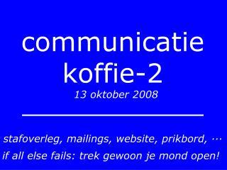 communicatie koffie-2