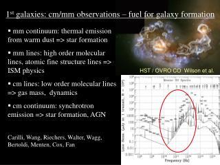 HST / OVRO CO  Wilson et al.