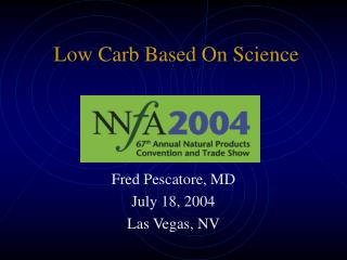 Low Carb Based On Science