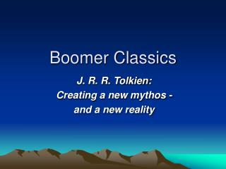Boomer Classics