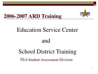 2006-2007 ARD Training