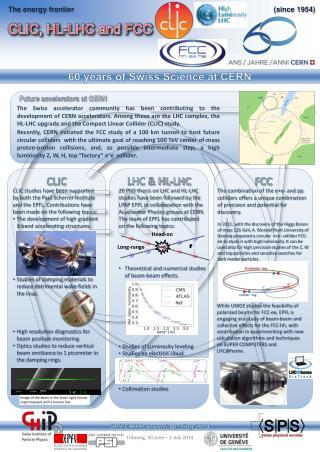 CLIC, HL-LHC and FCC