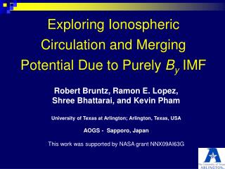 Exploring Ionospheric Circulation and Merging Potential Due to Purely  B y  IMF