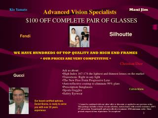 Advanced Vision Specialists