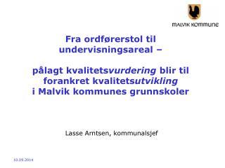 Lasse Arntsen, kommunalsjef