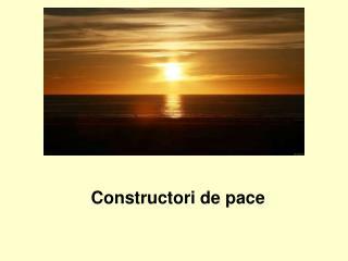 Constructori de pace