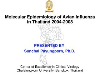 Molecular Epidemiology of Avian Influenza  in Thailand 2004-2008
