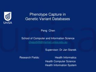 Phenotype Capture in  Genetic Variant Databases