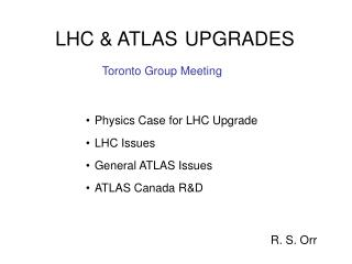 LHC & ATLAS UPGRADES