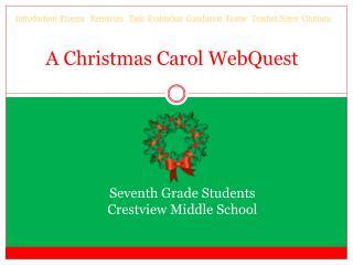 A Christmas Carol  WebQuest