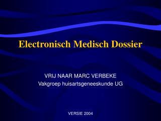 Electronisch Medisch Dossier