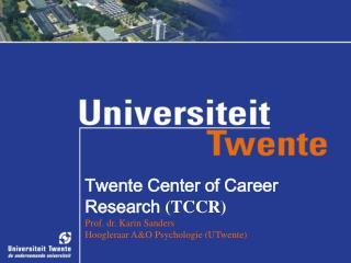 TCCR: de start