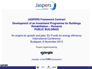 JASPERS Framework Contract