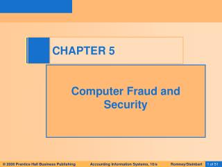 Computer Fraud and Security