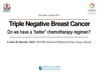 "Do we have a  "" better ""  chemotherapy regimen?"