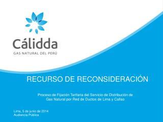 RECURSO DE RECONSIDERACI�N