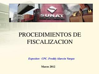 PROCEDIMIENTOS DE FISCALIZACION