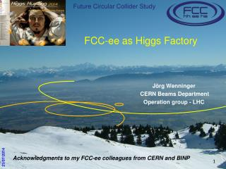 FCC- ee  as Higgs Factory