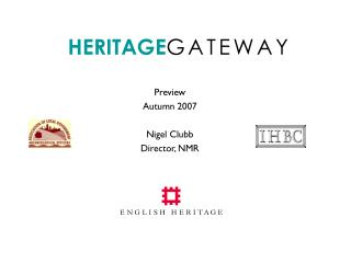 HERITAGE G A T E W A Y