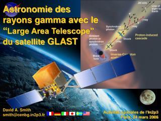 David Smith Centre d'Etudes Nucl é aires de Bordeaux-Gradignan ( CENBG - in2p3 - CNRS )