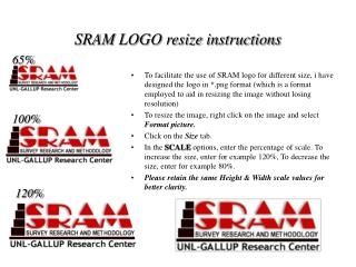 SRAM LOGO resize instructions
