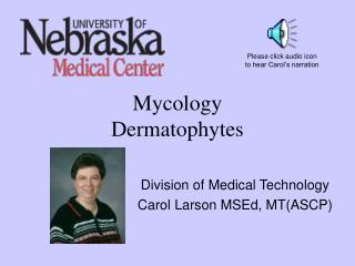 Mycology Dermatophytes