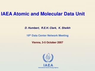 IAEA Atomic and Molecular Data Unit