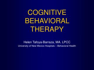 an introduction to the rational emotive behavior therapy of albert ellis and william glasser William glasser 10 reality therapy reality therapy has been compared to the rational emotive behavior therapy of albert ellis reality therapy and rational emotive behavior therapy share the principle that outside forces do not cause stress, depression, anxiety, or any other disturbance.