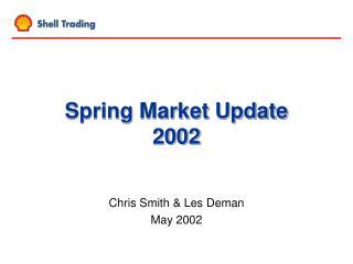 Spring Market Update    2002