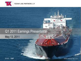 Q1 2011 Earnings Presentation