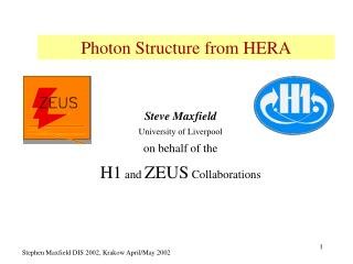 Photon Structure from HERA