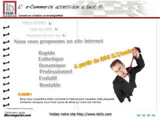 Conseil en création et stratégie internet