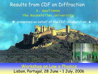 Results from CDF on Diffraction