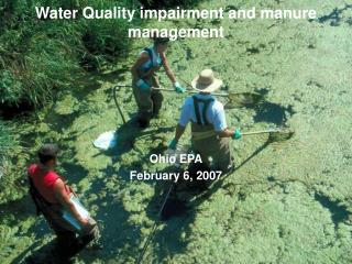 Water Quality impairment and manure management
