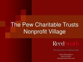The Pew Charitable Trusts Nonprofit Village