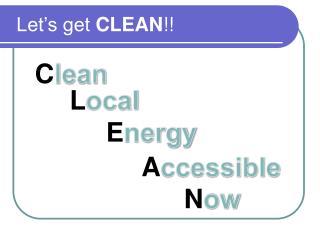 C lean