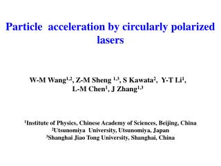 Particle  acceleration by circularly polarized lasers