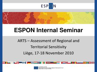 ESPON Internal Seminar