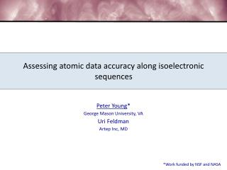 Assessing atomic data accuracy along isoelectronic  sequences