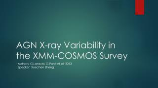 AGN X-ray Variability in the XMM-COSMOS Survey