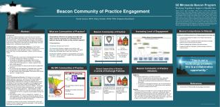 Beacon Community of Practice Engagement