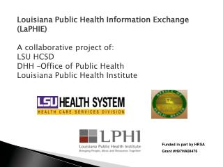 Funded in part by HRSA  Grant #H97HA08476