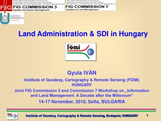 Land Administration & SDI in Hungary