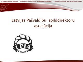 Latvijas Pašvaldību Izpilddirektoru asociācija