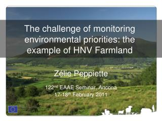 The challenge of monitoring environmental priorities: the example of HNV Farmland
