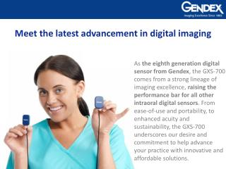 Meet the latest advancement in digital imaging